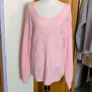 Sweaters - Loose Fit Knit Sweater